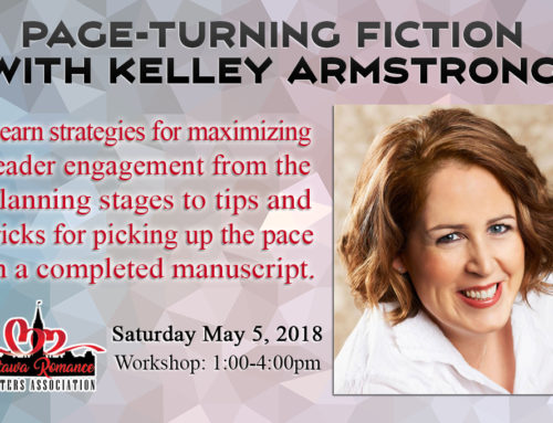 May 2018 Workshop: Page-Turning Fiction with Kelley Armstrong