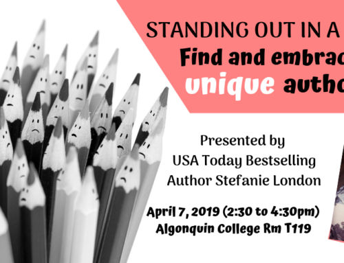 Recap April 2019: Develop Your Unique Author Voice with Stefanie London