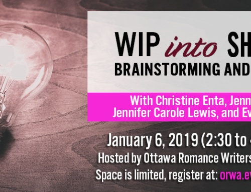 January 2019: WIP into Shape free brainstorming workshop