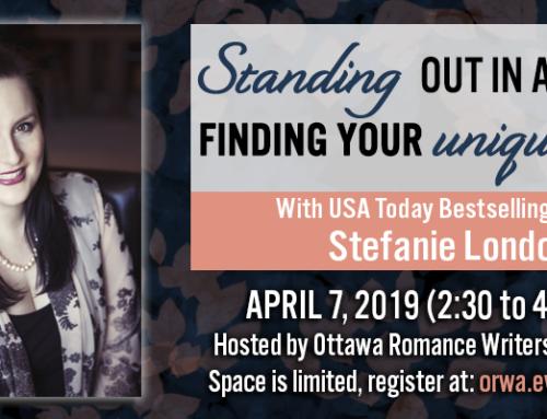 April 2019: Standing Out in a Crowd: Finding Your Unique Voice