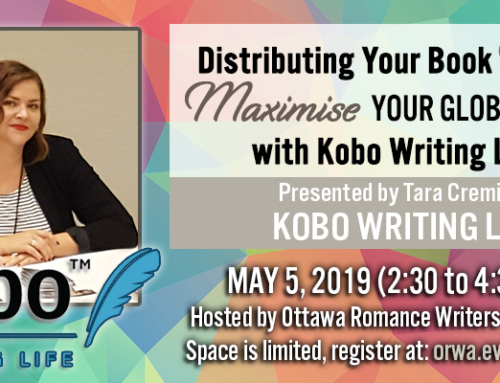 May 2019: Maximize Your Global Book Sales with Kobo Writing Life